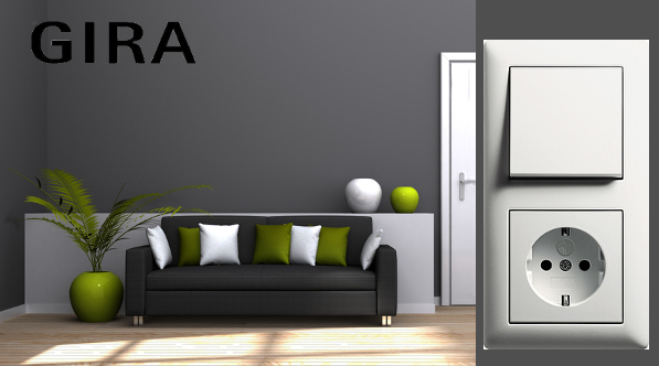 gira steckdose wechselschalter steckdosen dimmer. Black Bedroom Furniture Sets. Home Design Ideas