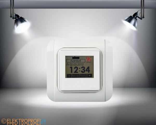 Raumtemperatur regler fussbodenheizung komfort